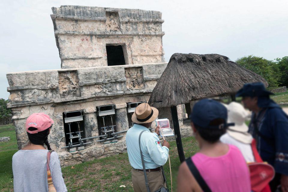 Templo del Dios Descendente, Tulum ed i suoi monumenti, I siti, Tulum, Messico Yucatán