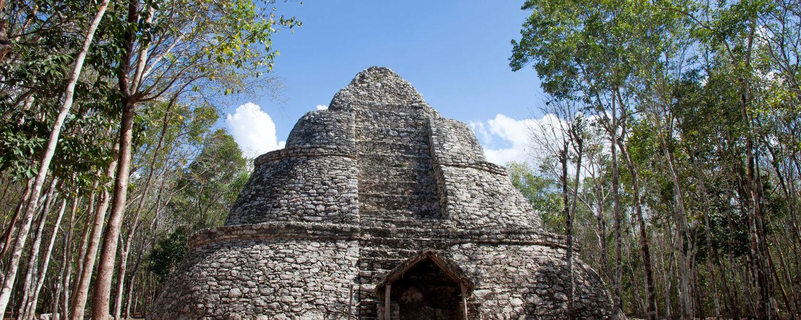 Coba, Les sites, Yucatan