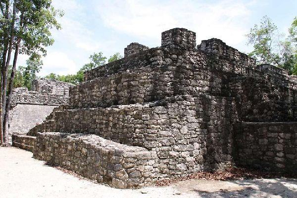 Coba , L'architettura di Coba , Messico