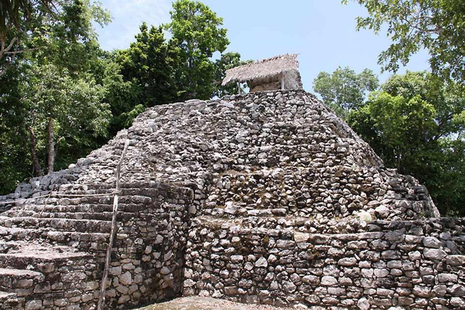 Coba , Il sito Maya di Coba , Messico