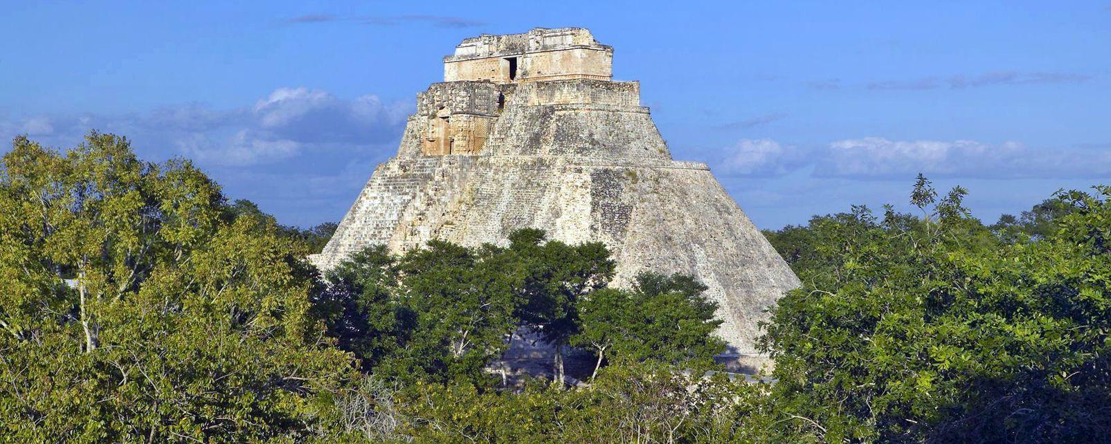 Uxmal, La cité maya d'Uxmal, Les sites, Merida, Yucatan
