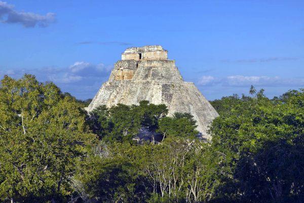Uxmal, I siti, Merida, Messico Yucatán