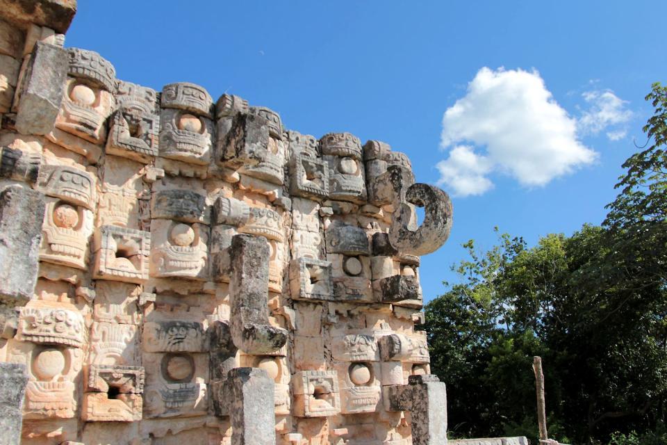 Kabah , El Palacio , Messico