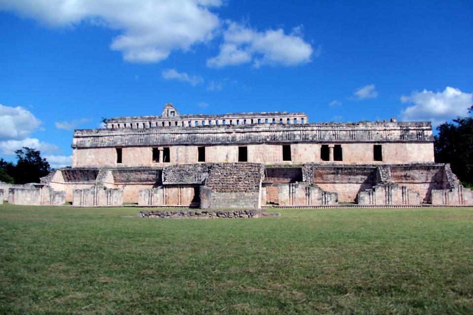 Kabah , I siti Maya della regione di Puuc , Messico
