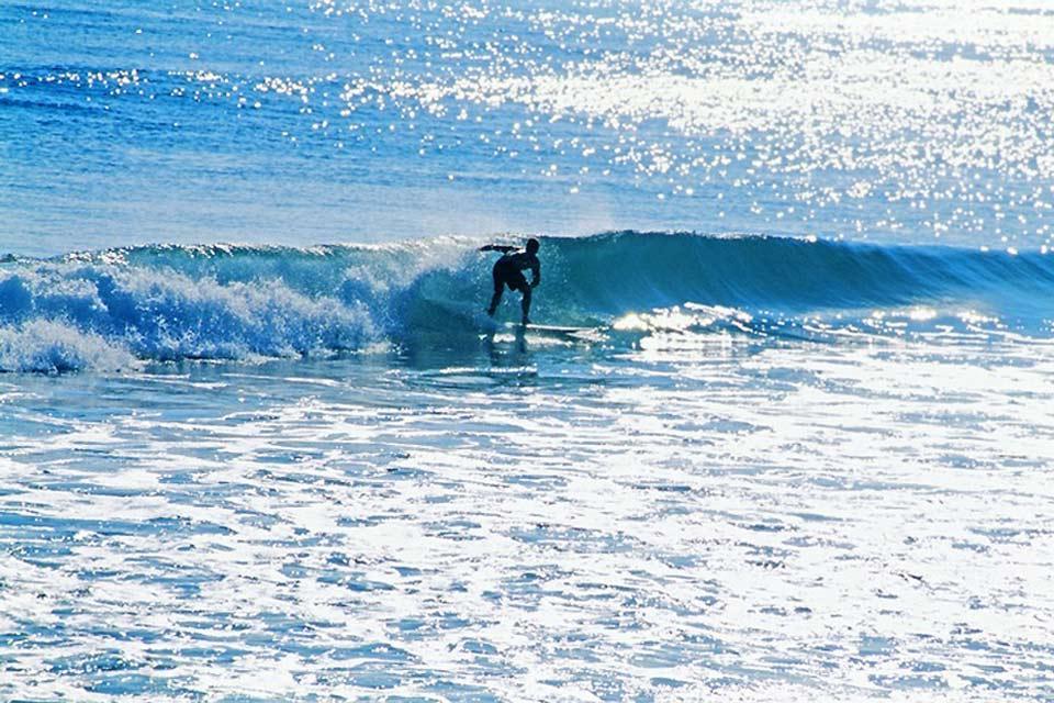 Le attività nautiche , Surf nello Yucatan , Messico