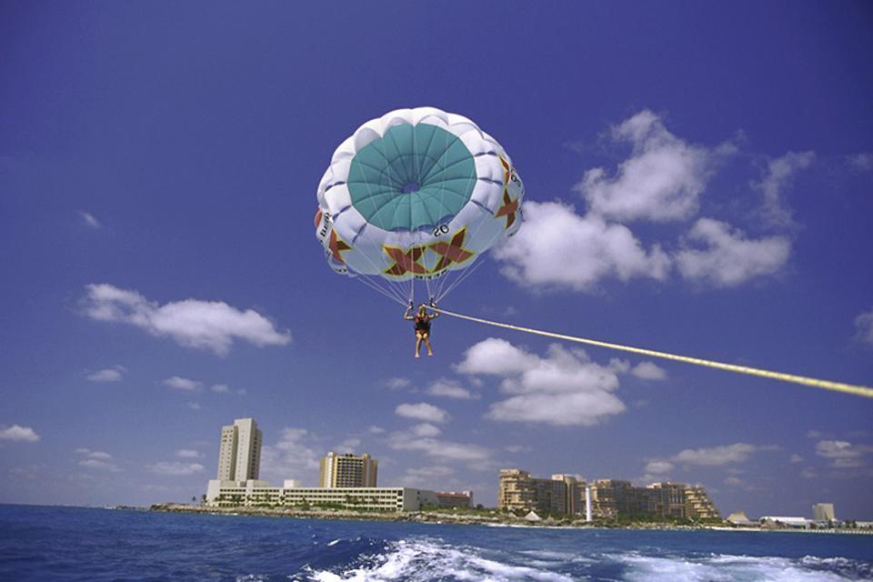 Le attività nautiche , Paracadute ascensionale , Messico