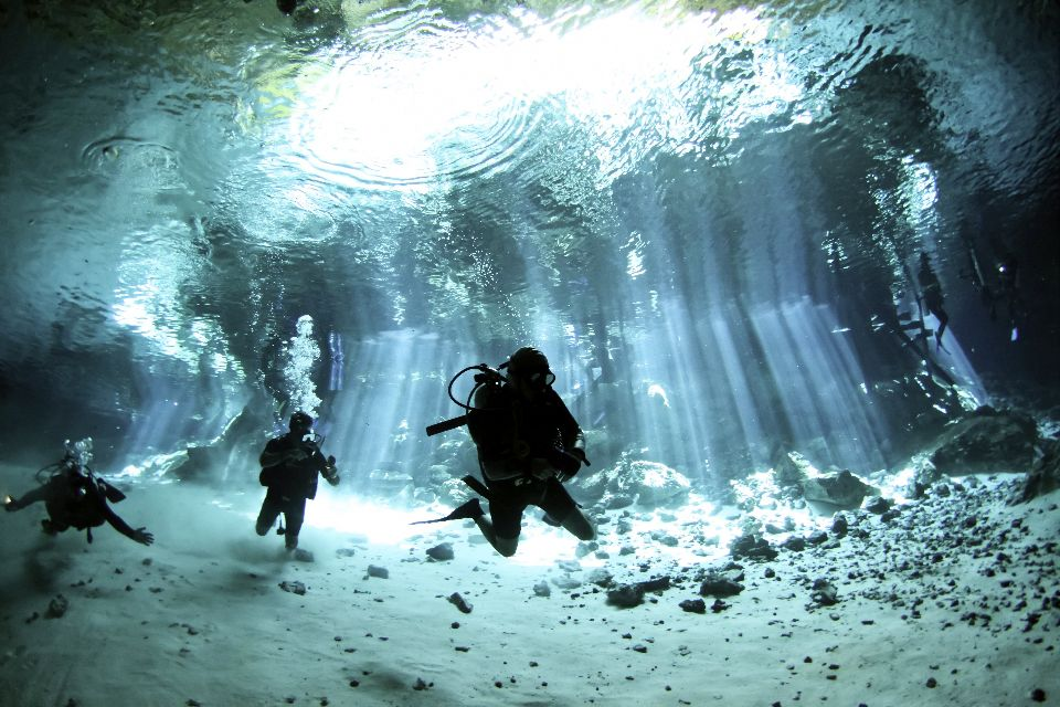 The cenotes , Mexico