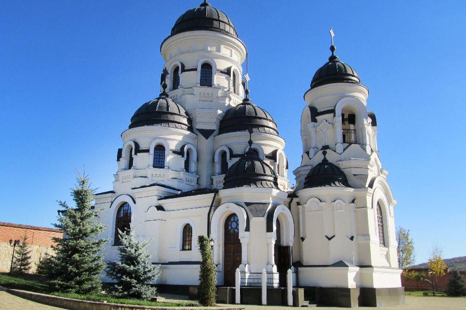 The Capriana monastery , Moldova