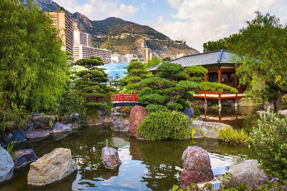 Il giardino giapponese , Il Giardino giapponese di Monte-Carlo , Montecarlo