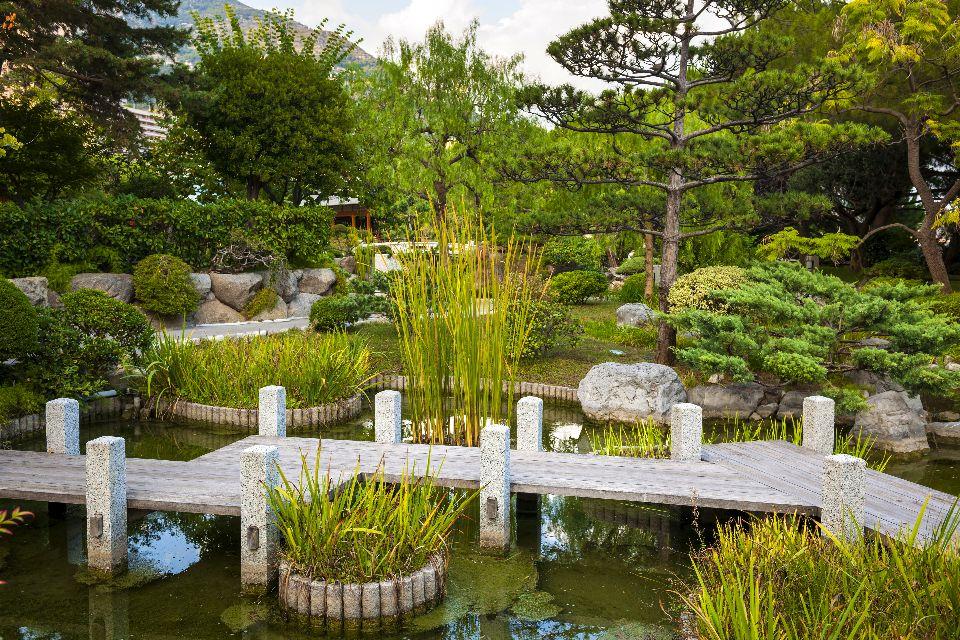 Il giardino giapponese , Montecarlo