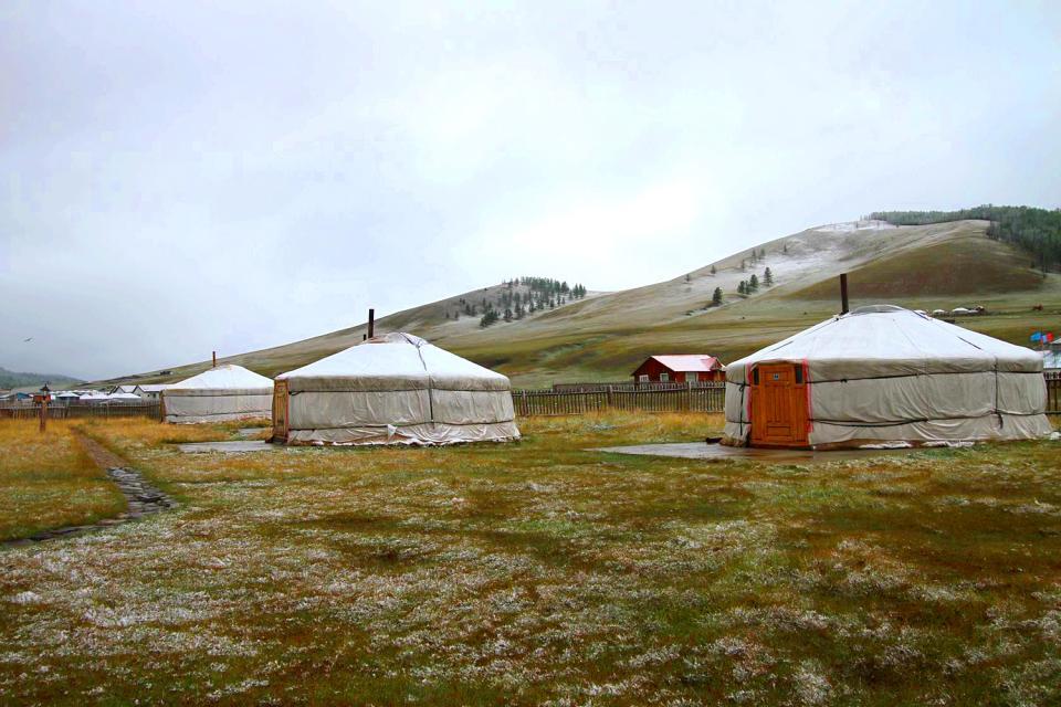 La province de l'Arkhangaï , La région de l'Arkhangaï, Mongolie , Mongolie