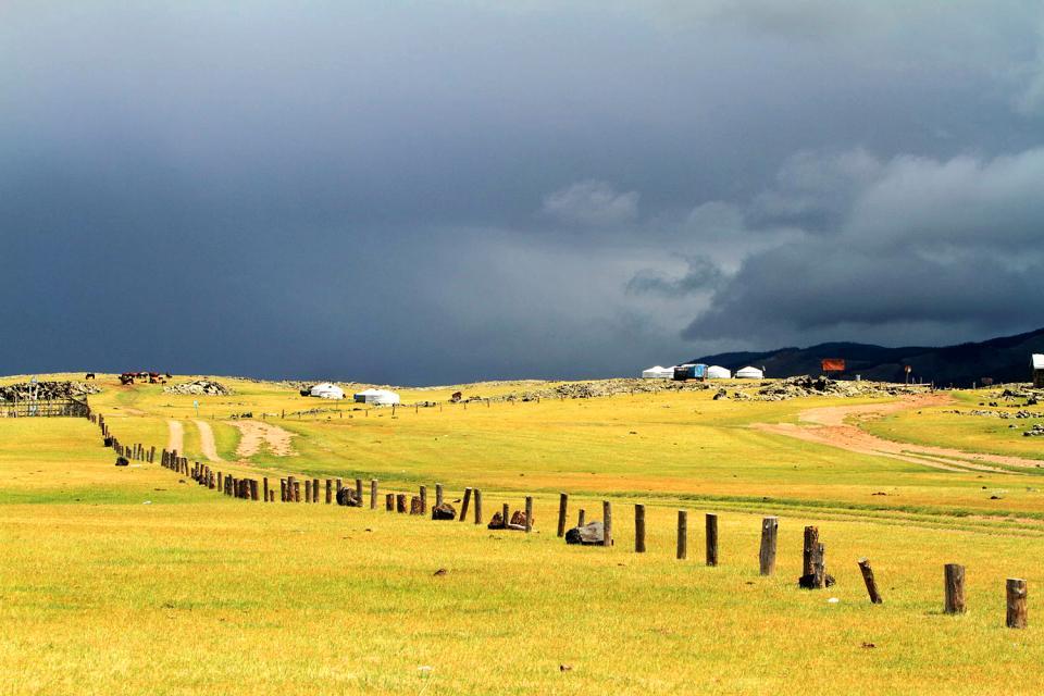 The Ovörkhangai province , Mongolia