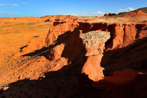 Le désert de Gobi , Curiosités naturelles , Mongolie