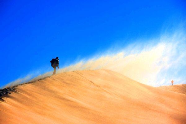 Le désert de Gobi , Gobi oriental , Mongolie