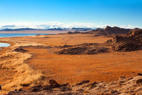 The Bayankhongor and Gobi-Altai provinces. , The provinces of Bayankhongor and Gobi-Altai , Mongolia
