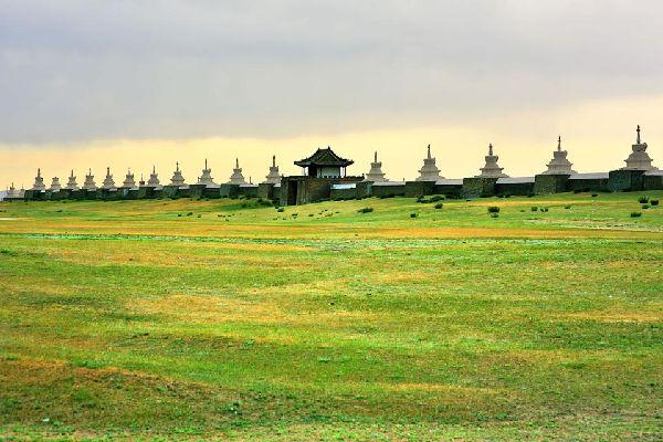 Le site de Karakorum , Mongolie