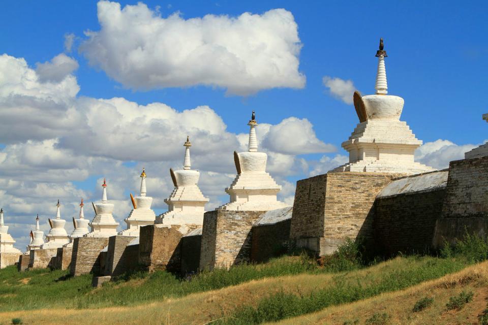 The site of Karakorum , Mongolia