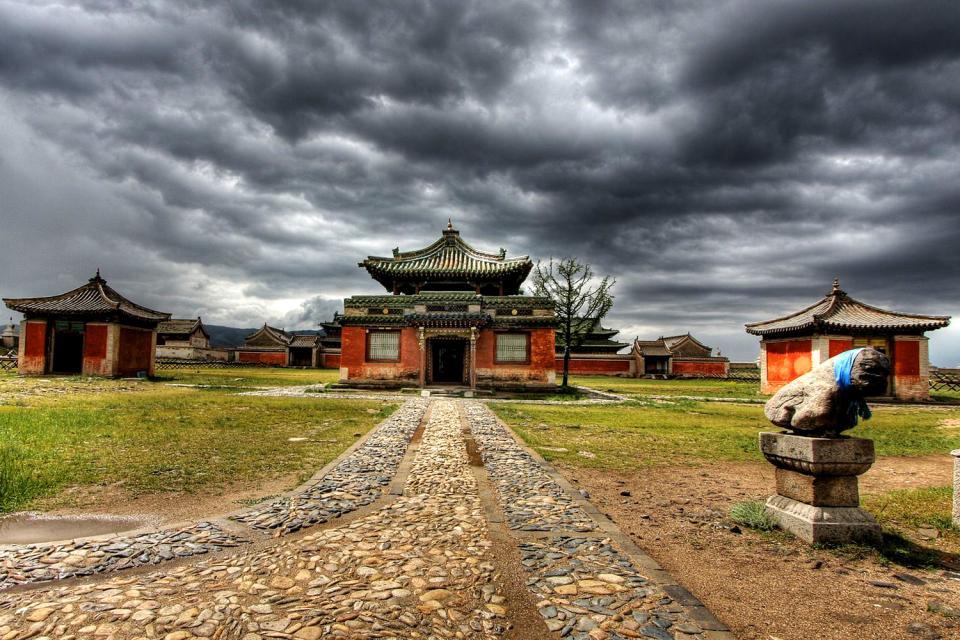 Erden-Züü monastery , The fortifications of the Erden-Zuu monastery , Mongolia