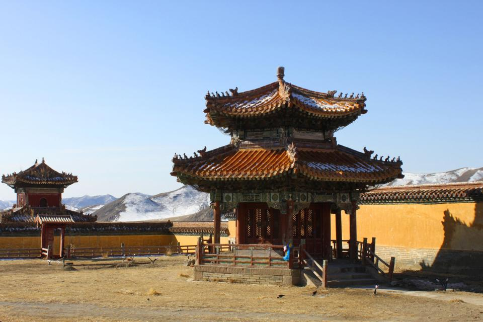 Amarbayasgalant monastery , Mongolia