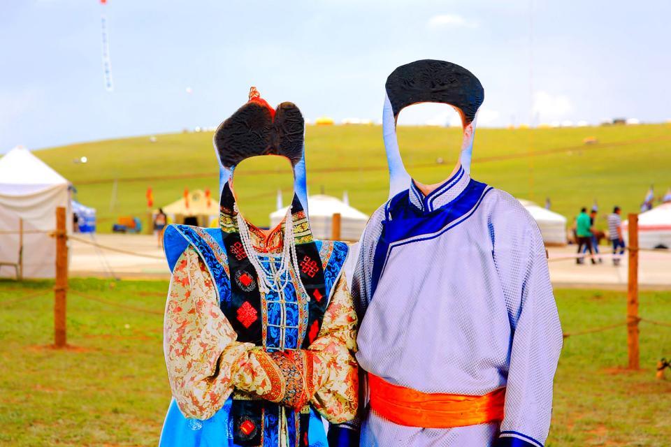 Tsagaan Sar festival , A family celebrates Tsagaan Sar , Mongolia