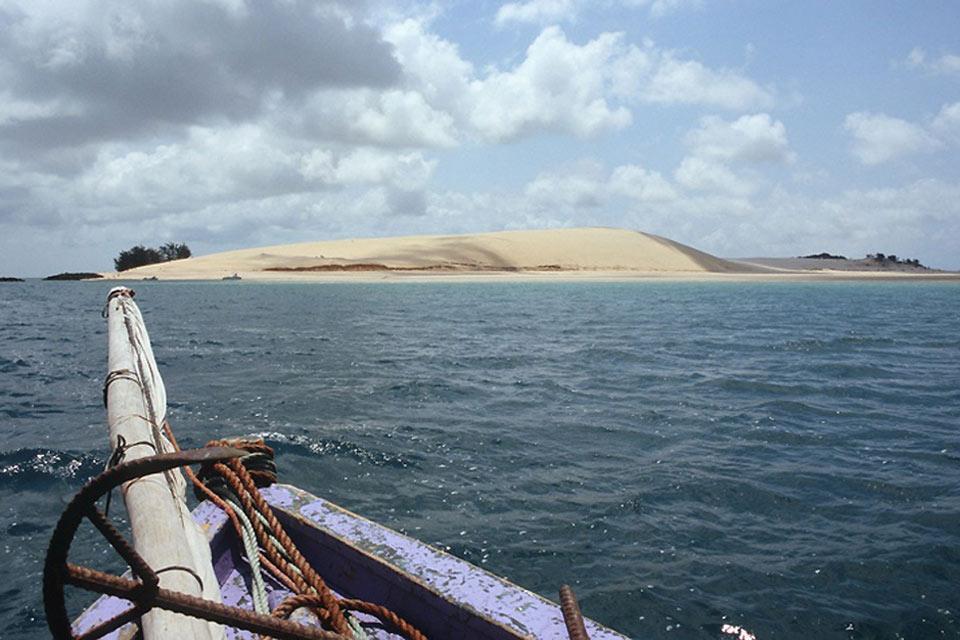 L'archipel de Bazaruto , Mozambique