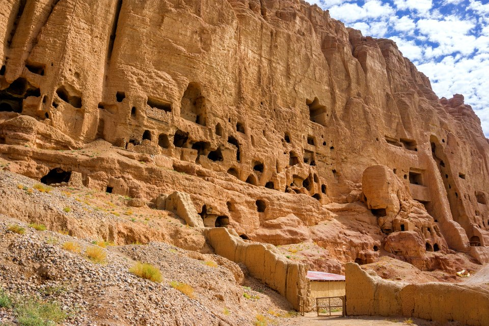 Les Bouddhas de Bamiyan, Les bouddhas de Bamiyan, Les monuments, Afghanistan
