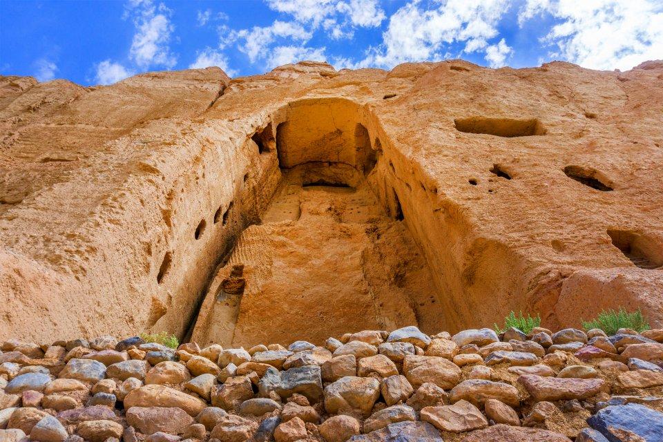 Les bouddhas de Bamiyan, Les monuments, Afghanistan