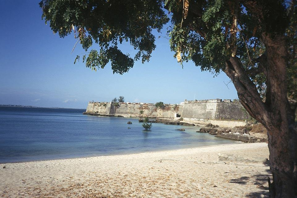 L'île de Mozambique , Église de Santo António, île de Mozambique , Mozambique