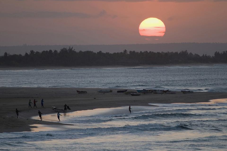La costa , Mozambique