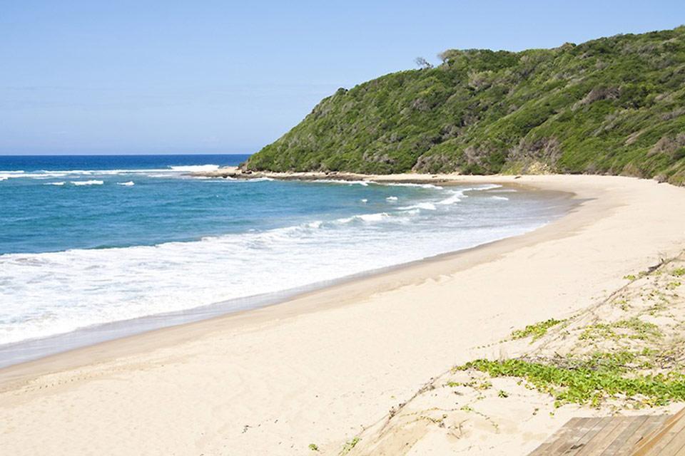 La costa , La costa de Mozambique, océano Índico , Mozambique