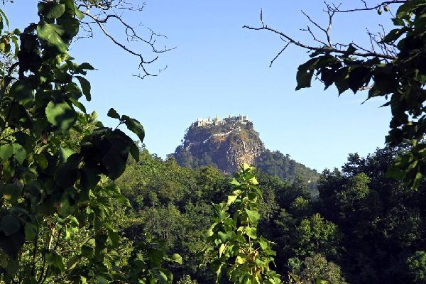Mount Popa , A magnificent panorama , Myanmar