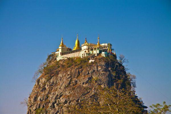 Mount Popa, Landscapes, Bagan, Myanmar