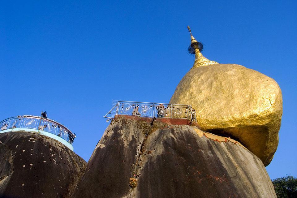 The Kyaikto , Burma