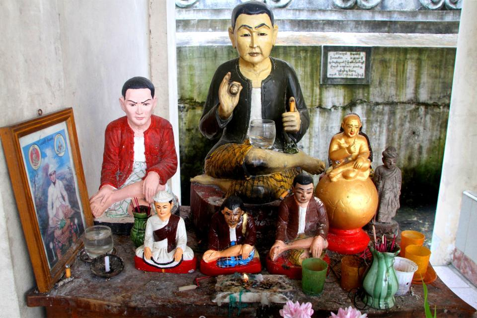 The nats , Burma