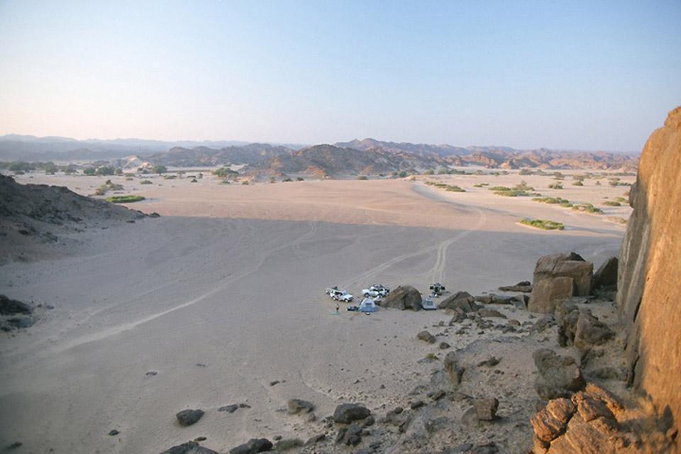 Le désert du Kalahari , Le désert du Kalahari, Namibie , Namibie