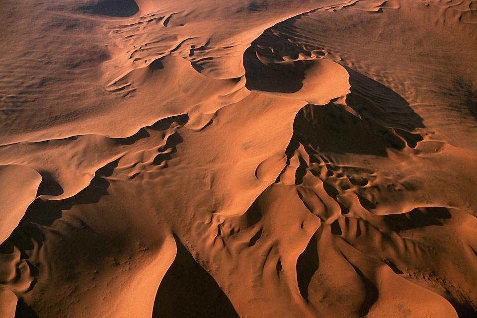 The Namib desert , Namibia