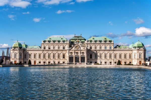 Les arts et la culture, Vienne, Belvédère, autriche, Europe, chateau, baroque