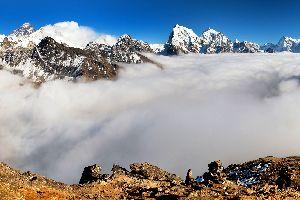 Las cumbres , El Himalaya, Nepal , Nepal