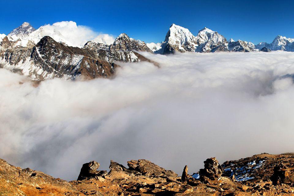 The summits , The Himalayas, Nepal , Nepal