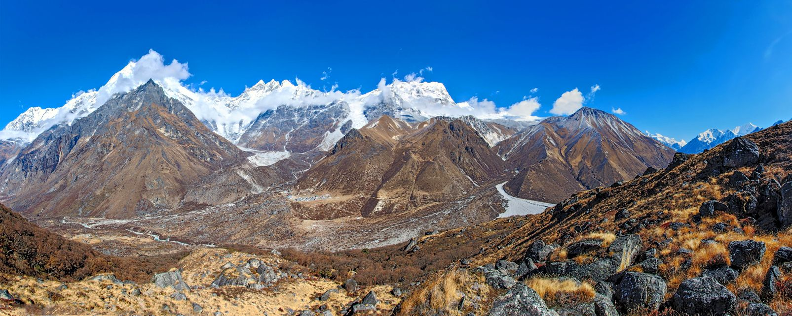 The valleys of Helambu and Langtang , The valleys of Helambu and Langtang, Nepal , Nepal