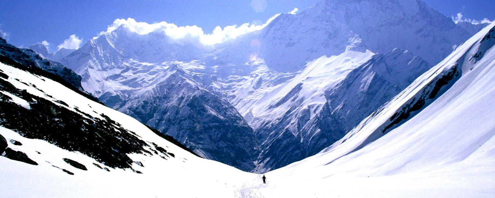 L'Annapurna , Le sommet de l'Annapurna, Népal , Népal