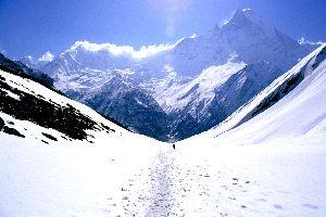 El Annapurna , La cima del Annapurna, Nepal , Nepal