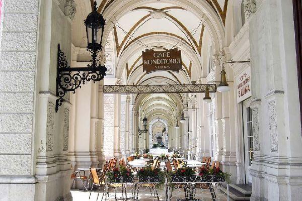 The cafés , Cafés , Austria