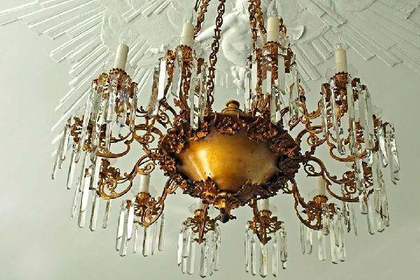 La cristalería , Lámpara de araña de cristal , Austria