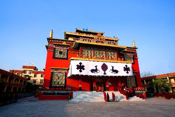 Buddhist monasteries , A Buddhist monk, Nepal , Nepal