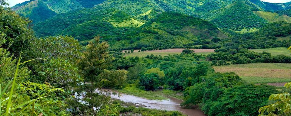 Las monta�as de Nicaragua