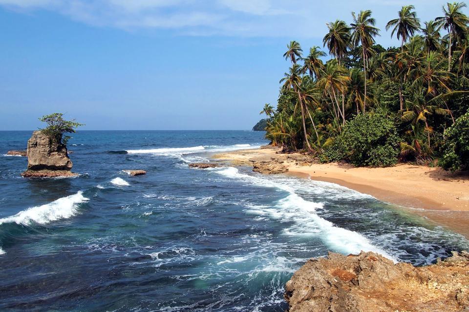 La costa del Pacífico , Nicaragua