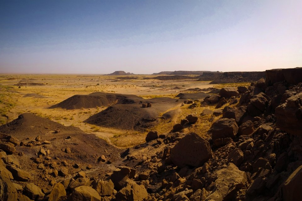 The Aïr mountains, Landscapes, Niger