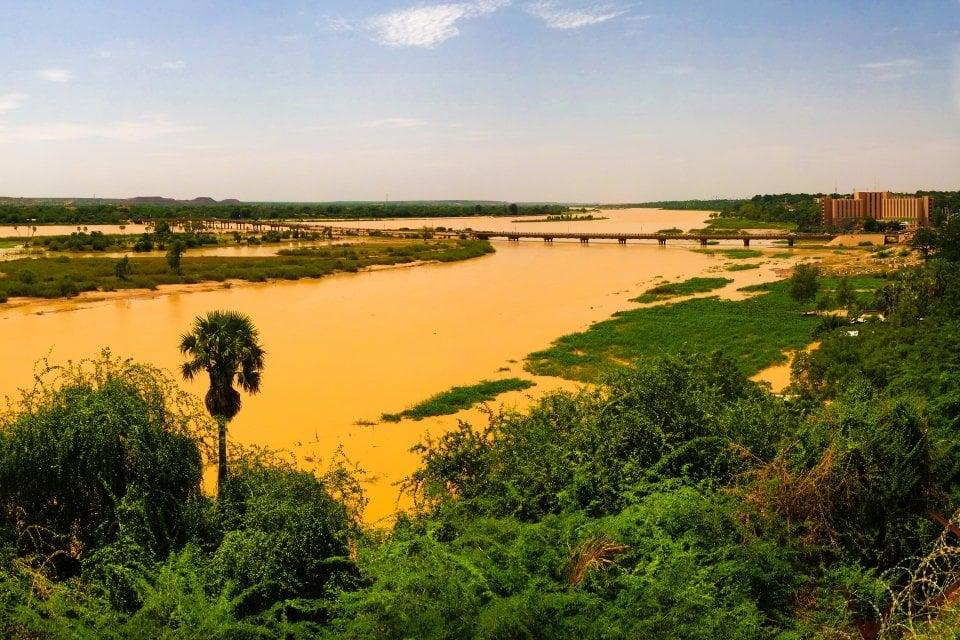 , The Niger river, Landscapes, Niger