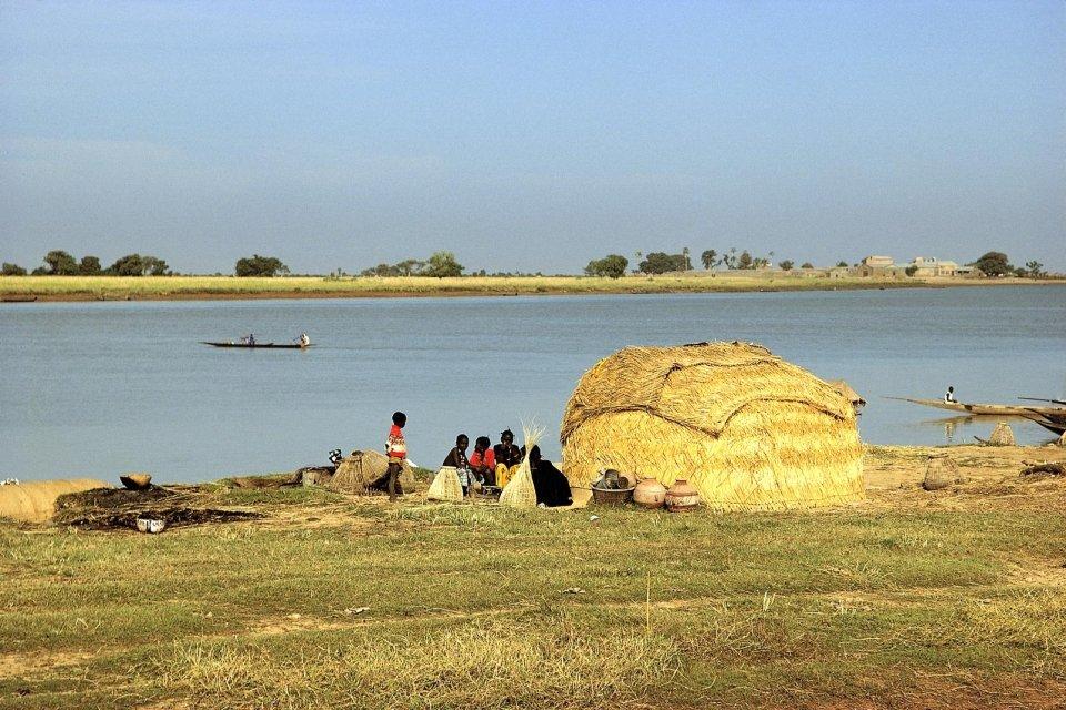 The Niger river, Landscapes, Niger